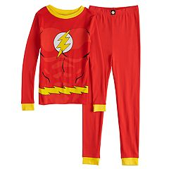 Boys 4-10 The Flash 2-Piece Pajama Set