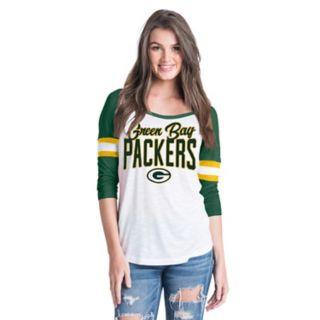 Women's New Era Green Bay Packers Burnout Tee