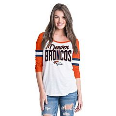 Women's New Era Denver Broncos Burnout Tee