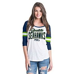 Women's New Era Seattle Seahawks Burnout Tee