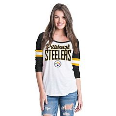 Women's New Era Pittsburgh Steelers Burnout Tee