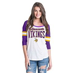 Women's New Era Minnesota Vikings Burnout Tee