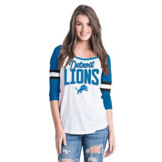 Women's New Era Detroit Lions Burnout Tee