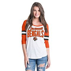 Women's New Era Cincinnati Bengals Burnout Tee