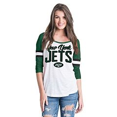 Women's New Era New York Jets Burnout Tee
