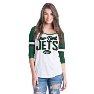 Women's New Era New York Jets Burnout Tee