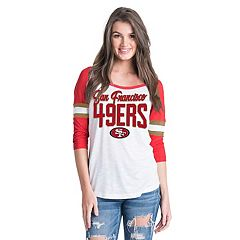 Women's New Era San Francisco 49ers Burnout Tee