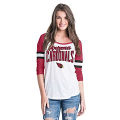 Women's New Era Arizona Cardinals Burnout Tee
