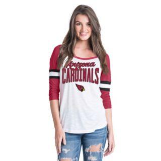 Women's New Era Arizona Cardinals Burnout Tee