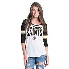 Women's New Era New Orleans Saints Burnout Tee