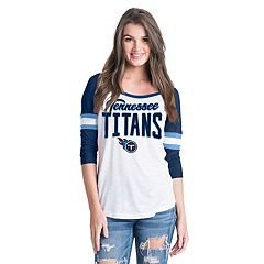 Women's New Era Tennessee Titans Burnout Tee