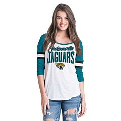 Women's New Era Jacksonville Jaguars Burnout Tee