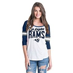 Women's New Era Los Angeles Rams Burnout Tee