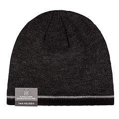 Men's Van Heusen Striped Fleece-Lined Beanie