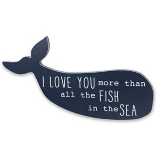 Wendy Bellissimo  Landon Whale Wall Art