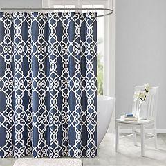 510 Design Neville Printed Shower Curtain