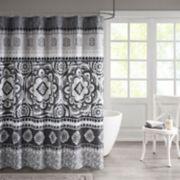 510 Design Kori Floral Medallion Shower Curtain