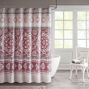 Intelligent Design Skye Printed Shower Curtain Sale