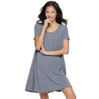 Juniors' SO® Crisscross Back Swing Dress