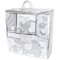 Wendy Bellissimo Hudson Elephant Crib Bedding Set