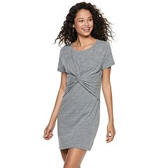 Juniors' SO® Twist Front Dress