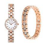 Elgin Women's Fashion Watch & Bracelet Set