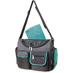 Fisher-Price Fast Finder Wide Opening Diaper Bag Tote
