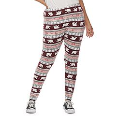 Juniors' Plus Size SO® Hatchi Holiday Leggings