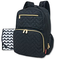 Fisher-Price Morgan Quilted Backpack Diaper Bag