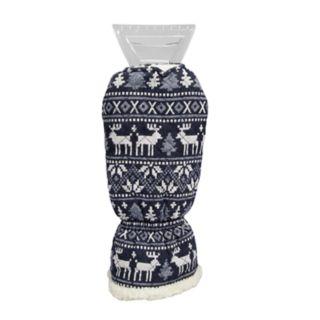 Wembley Quilted Deer-Print Ice Scraper Mitt