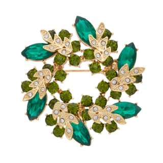 Dana Buchman Wreath Pin