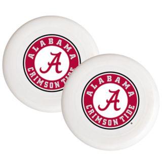 Alabama Crimson Tide 2-Pack Flying Disc Set