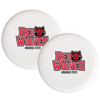Arkansas State Red Wolves 2-Pack Flying Disc Set