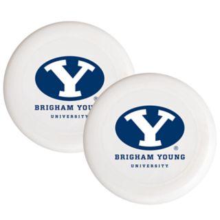 BYU Cougars 2-Pack Flying Disc Set