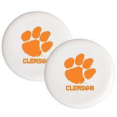 Clemson Tigers 2-Pack Flying Disc Set