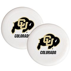 Colorado Buffaloes 2-Pack Flying Disc Set
