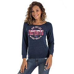 Women's New Era New EnglandPatriots Triblend Sweatshirt