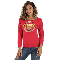 Women's New Era Kansas City Chiefs Triblend Sweatshirt