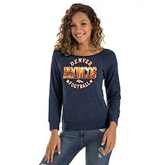 Women's New Era Denver Broncos Triblend Sweatshirt