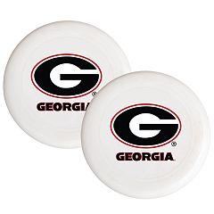 Georgia Bulldogs 2-Pack Flying Disc Set