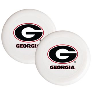 Georgia Bulldogs 2-Pack Flying Disc Set