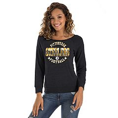 Women's New Era Pittsburgh Steelers Triblend Sweatshirt