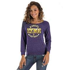 Women's New Era Minnesota Vikings Triblend Sweatshirt