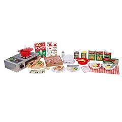 Melissa & Doug Deluxe Pizza Oven & Pasta Play Set