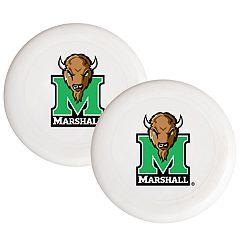 Marshall Thundering Herd 2-Pack Flying Disc Set