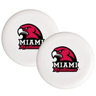 Miami RedHawks 2-Pack Flying Disc Set
