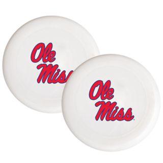 Ole Miss Rebels 2-Pack Flying Disc Set