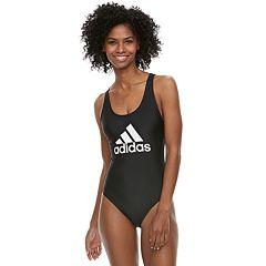 Women's adidas Crisscross Back One-Piece Swimsuit