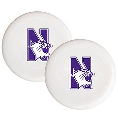 Northwestern Wildcats 2-Pack Flying Disc Set