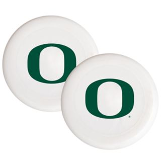 Oregon Ducks 2-Pack Flying Disc Set